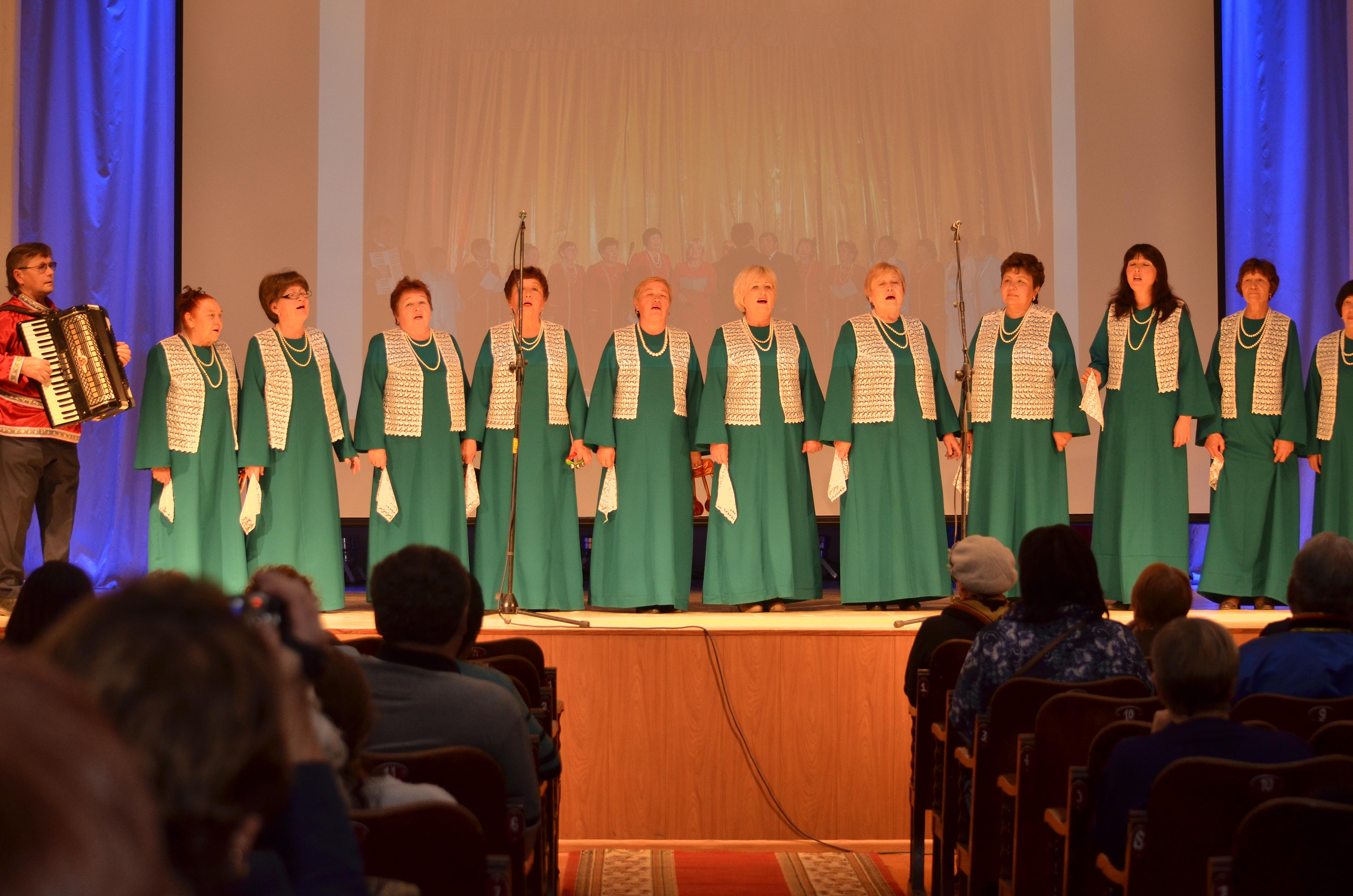 I - конкурс вокально-хоровых коллективов  пенсионеров Республики Бурятия