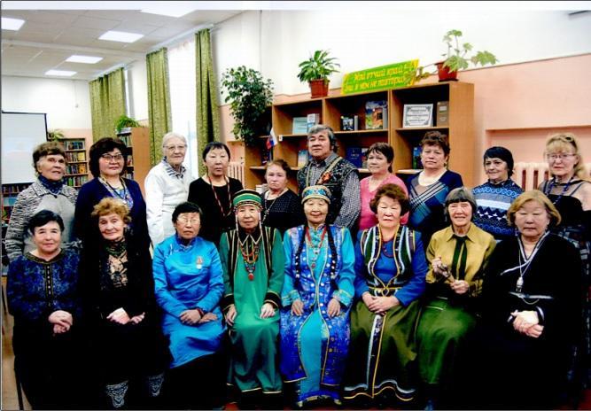 Союз пенсионеров к празднику Белого месяца